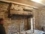 Changement linteau et corbeaux cheminée