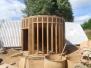 Extension pan de bois