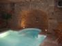 Sol en pierre piscine